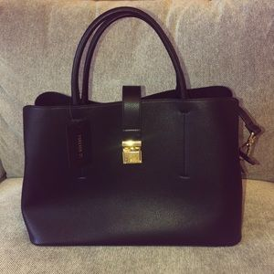 Forever 21 Black Satchel